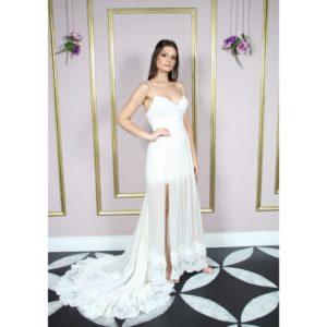 Vestido de noiva estilo boho chic e bordado