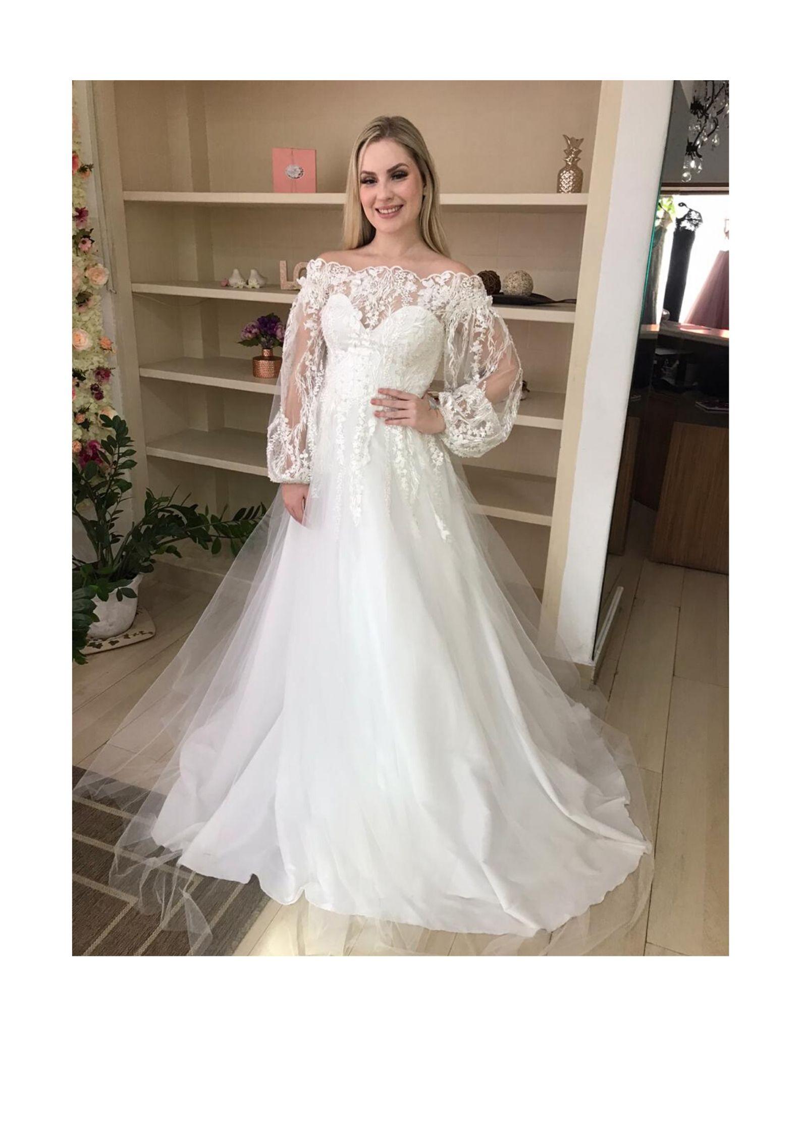 Vestido de noiva no bairro Tatuapé SP