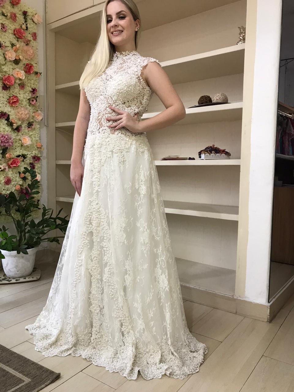 Moda noiva vestido de noiva alta costura no Tatuapé