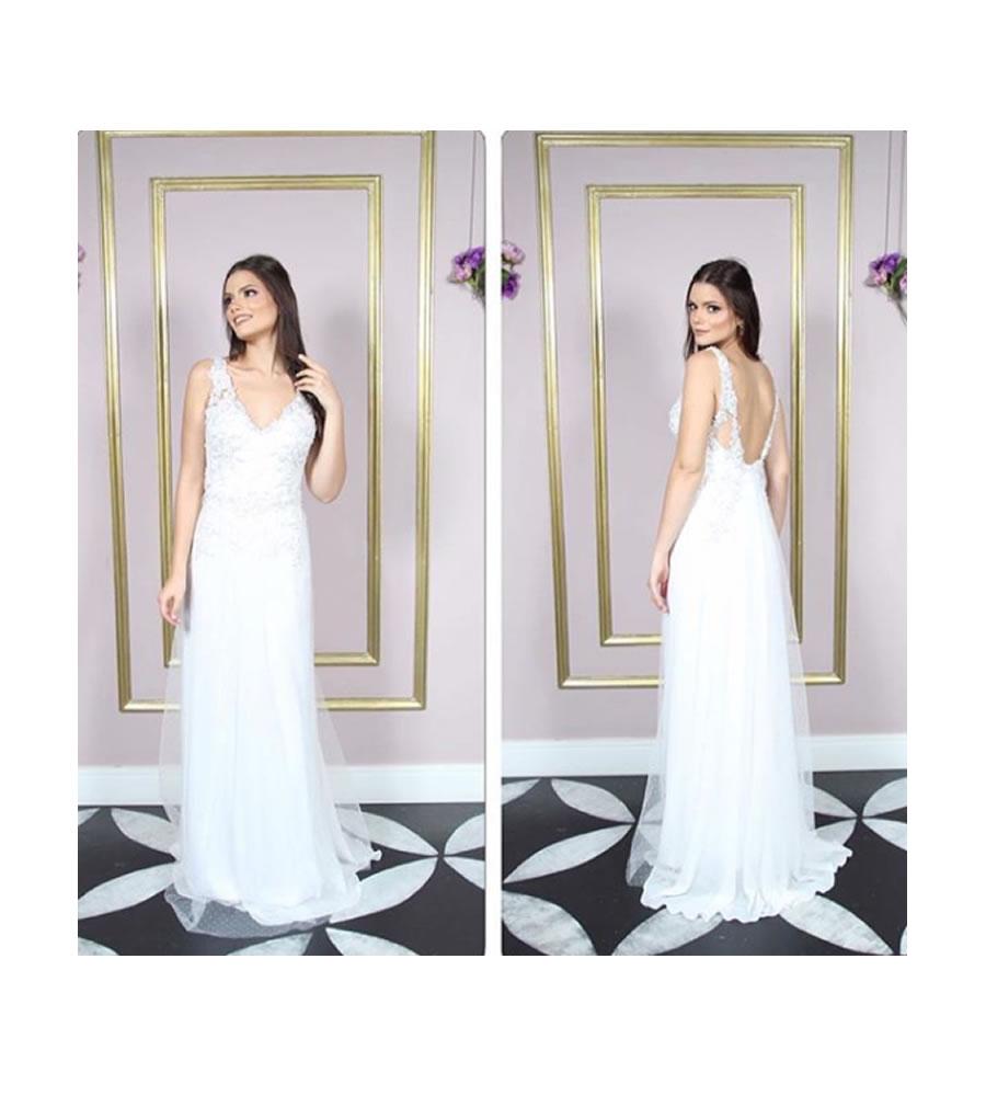 Alugar vestido de noiva sob medida alta costura Tatuapé