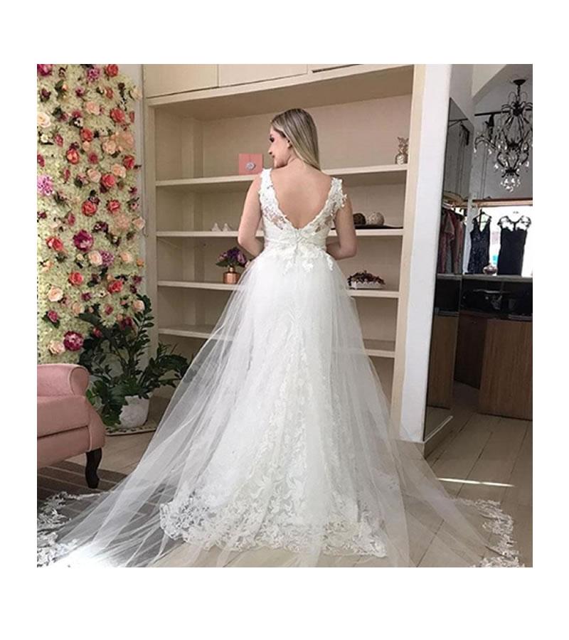 Vestido de noiva para alugar no Tatuapé Atelier