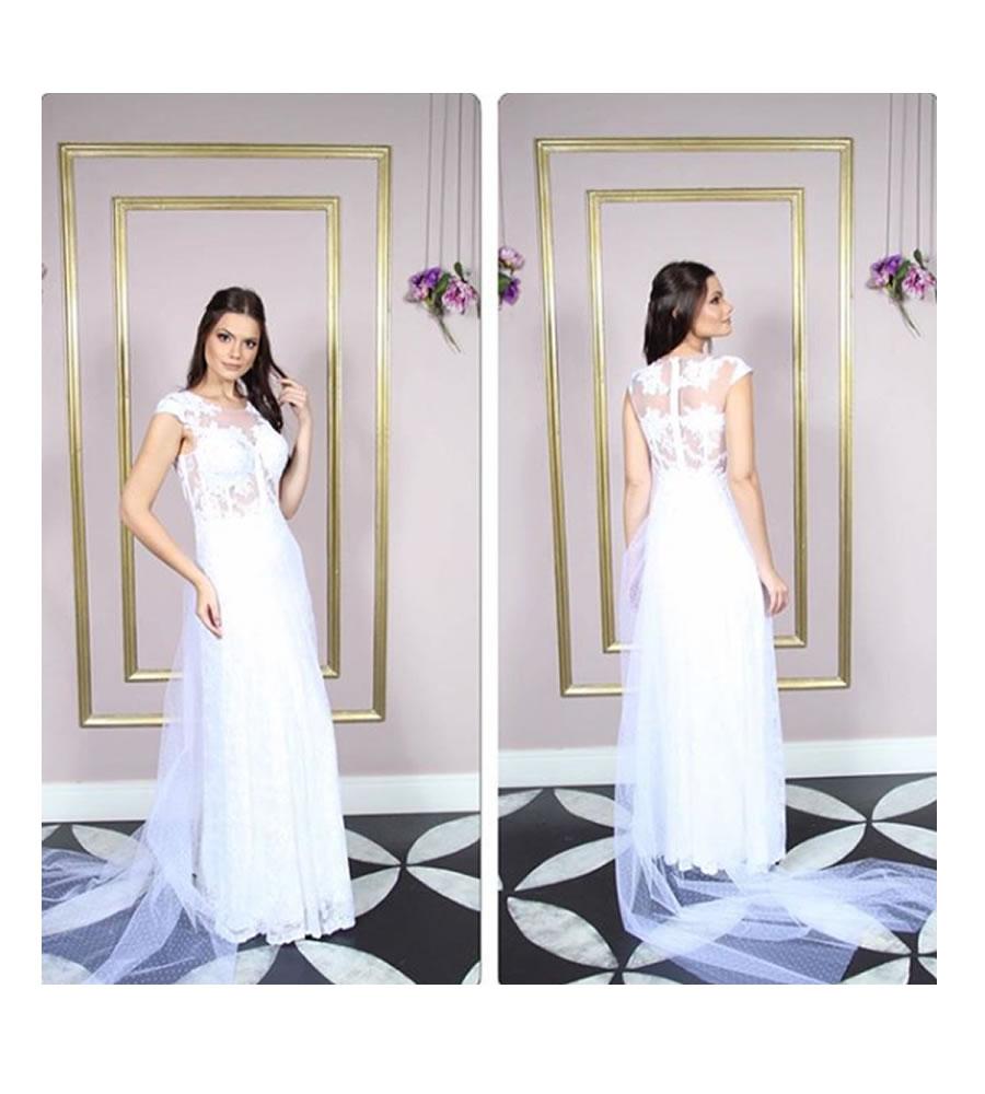 No Tatuapé vestidos de noiva de alta costura