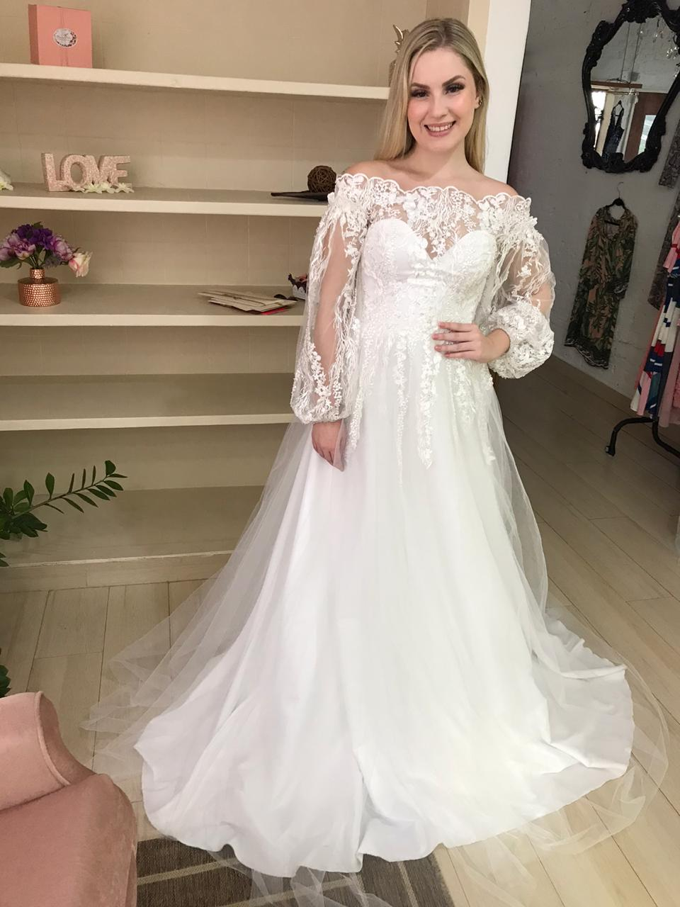 Atelier vestido de noiva sob medida na zona leste