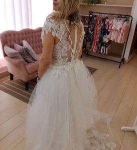 Vestido de noiva segundo aluguel alta costura zona leste