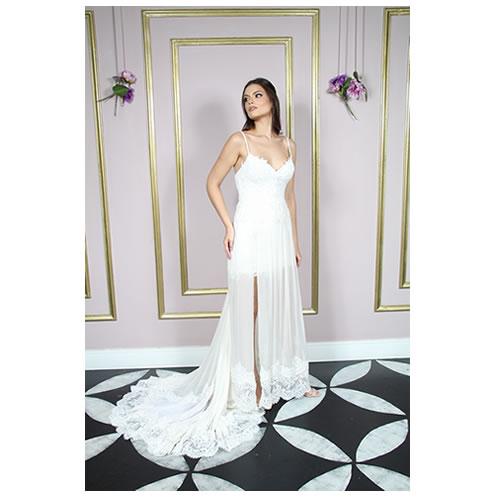 Vestido de noiva primeiro aluguel alta costura zona leste